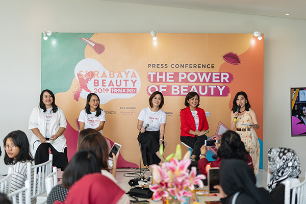 Press Conference Surabaya X Beauty 2019