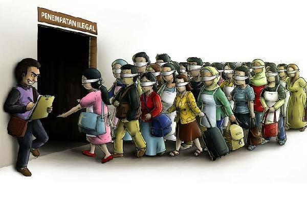 Vonis Penjara Pelaku Traficking Berkedok Penyalur Buruh Migran