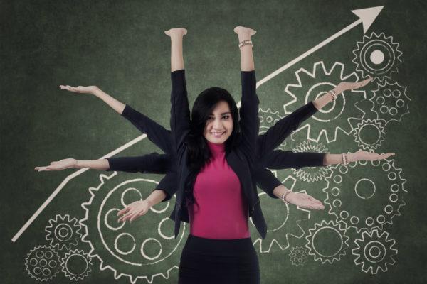 Kekuatan Perempuan Ada di Multitasking