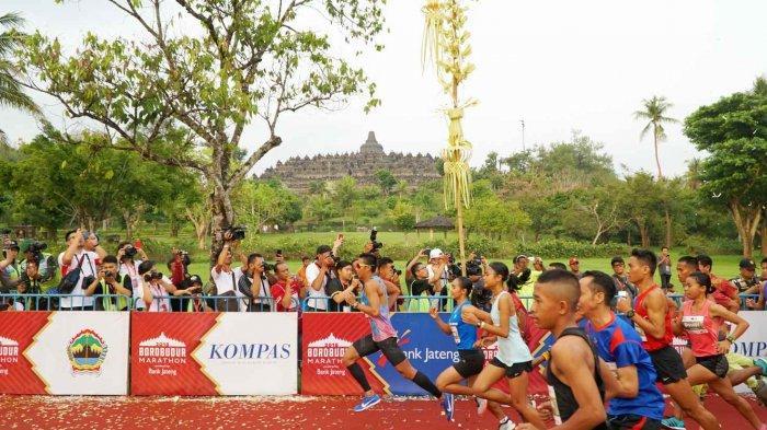 pelari-borobudur-marathon-2018