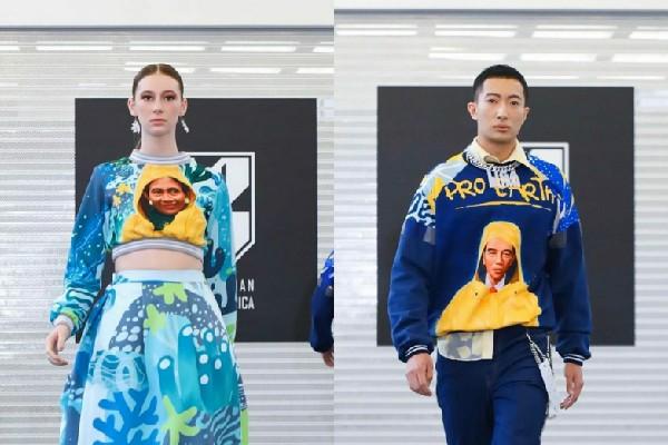 Jokowi dan Susi Pudjiastuti Jadi Inspirasi Desainer New York Fashion Week