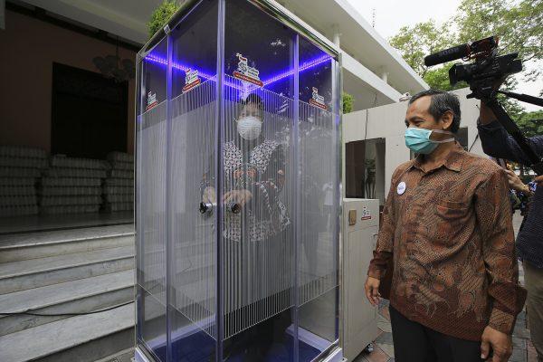 Guru Besar Unair Pastikan  Disinfektan Bilik Sterilisasi di Surabaya Aman
