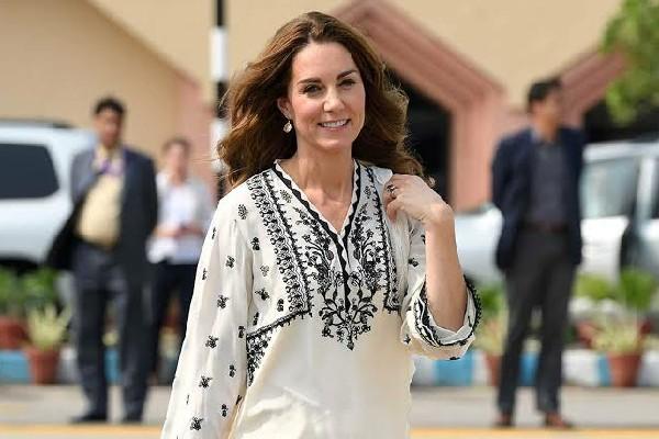 Gaya Idul Fitri ala Kate Middleton