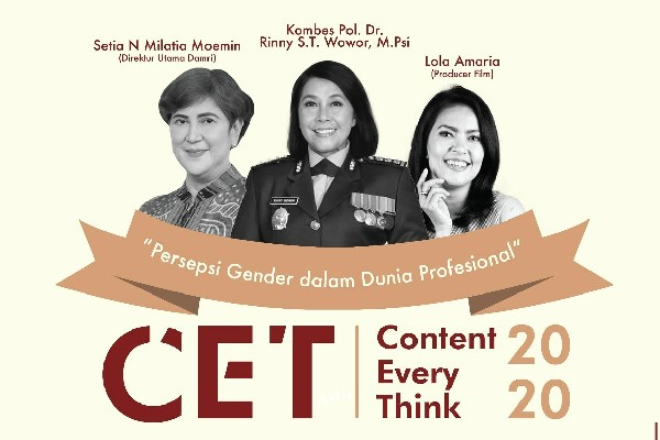 Content Every Think #1: Persepsi Gender dalam Dunia Profesional