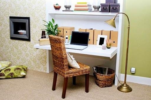 Cara Mudah Buat Tempat Kerja Nyaman Di Rumah