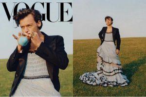 Harry Styles Pakai Gaun di Vogue, Dikecam dan Dibela