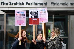 Skotlandia Gratiskan Pembalut Mentsruasi di Fasilitas Umum