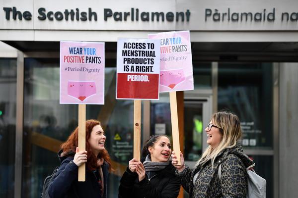 Skotlandia Gratiskan Pembalut Menstruasi di Fasilitas Umum