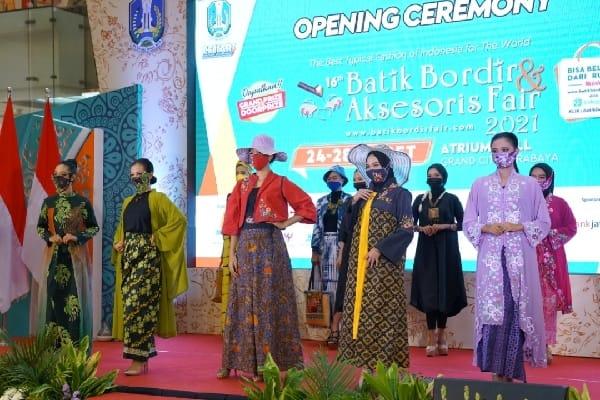 Batik Bordir Aksesoris Fair Bangkitkan Ekonomi UMKM di Jatim